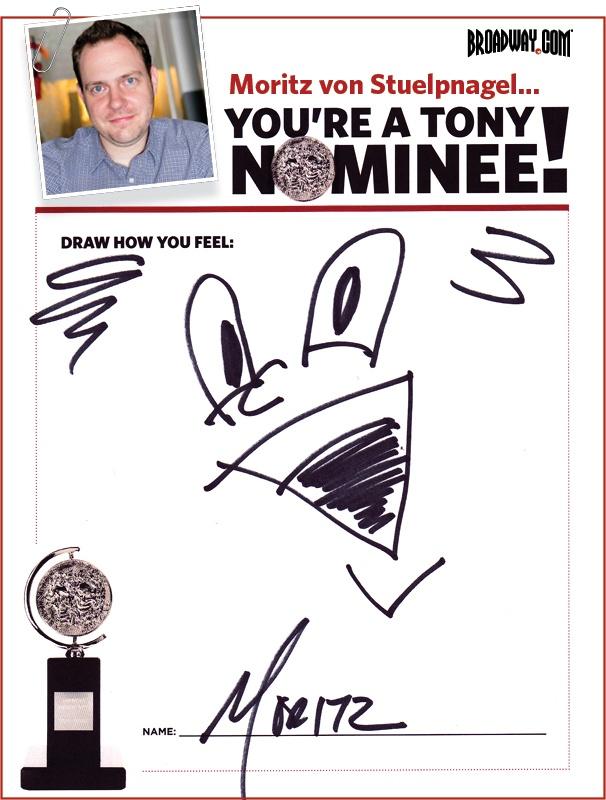 Tony Nominee Drawings – 2015 – Moritz von Stuelpnagel