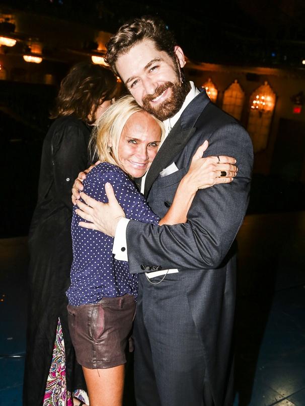 FInding Neverland - Backstage - 9/15 - Kristin Chenoweth and Matthew Morrison