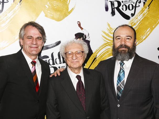 Fiddler on the Roof - Opening - 12/15 - Bartlett Sher, Sheldon Harnick and Danny Burstein