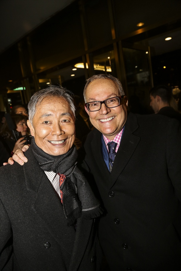Fiddler on the Roof - Opening - 12/15 - George Takei and Brad Takei