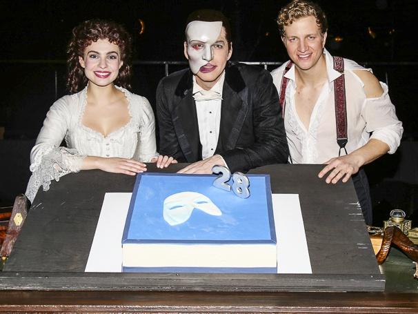 Phantom of the Opera - 28th Anniversary - 1/16 - Julia Udine, James Barbour, Jeremy Hays