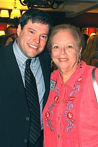 Broadway.com Group Sales Luncheon - Ron Sharpe - Janet Robinson