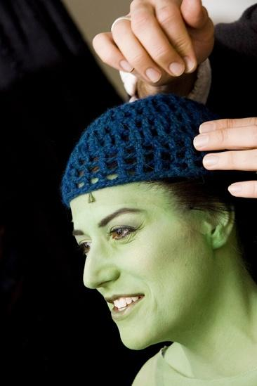 Nicole Parker Backstage at Wicked – cap2
