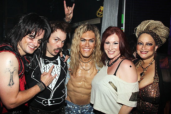 Tiffany at <i>Rock of Ages</i> - Jeremy Woodard– Mitchell Jarvis – MiG Ayesa – Tiffany – Michele Mais