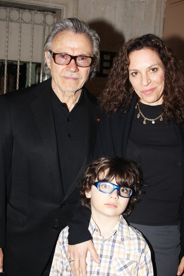 Peter and the Starcatcher Opening Night – Harvey Keitel - Family