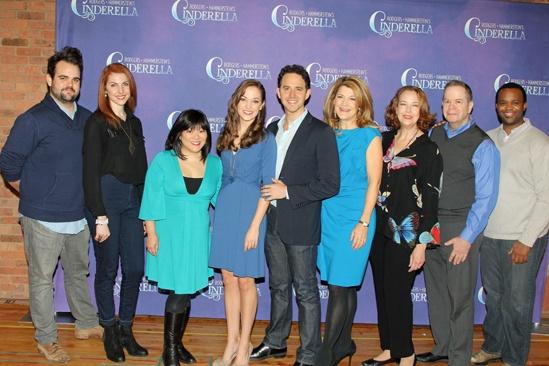 Cinderella- Greg Hildreth - Marla Mindelle- Ann Harada – Laura Osnes- Santino Fontana- Victoria Clark-  Harriet Harris- Peter Bartlett- Phumzile Sojola