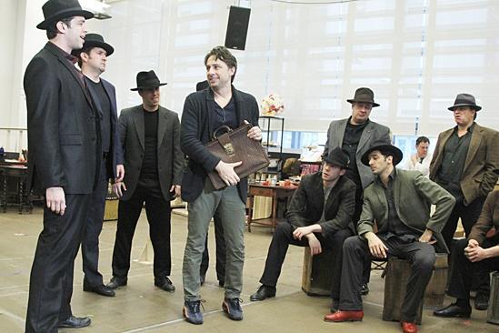Bullets Over Broadway - Meet and Greet - OP - Zach Braff - Cast
