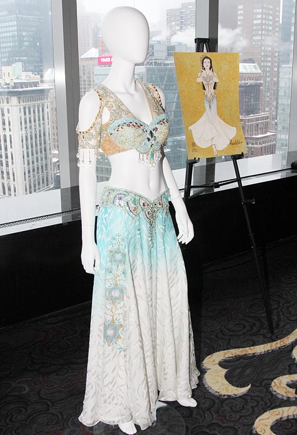 Aladdin - Meet and Greet - OP - Costume designs