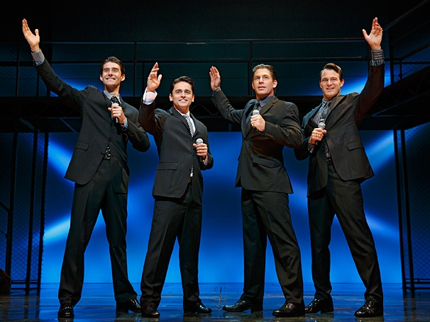 Jersey Boys - Show Photos - PS - 7/14 - Drew Gehling - Ryan Molloy - Richard H. Blake - Matt Bogart