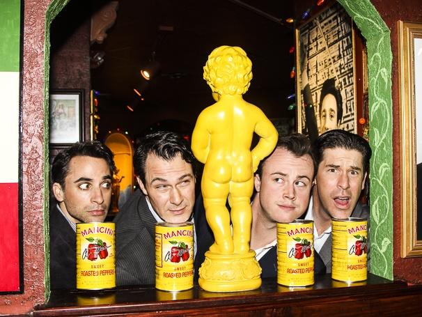 Jersey Boys - Buca Di Beppo - 4/15 - Joseph Leo Bwarie - Matt Bogart - Quinn VanAntwerp