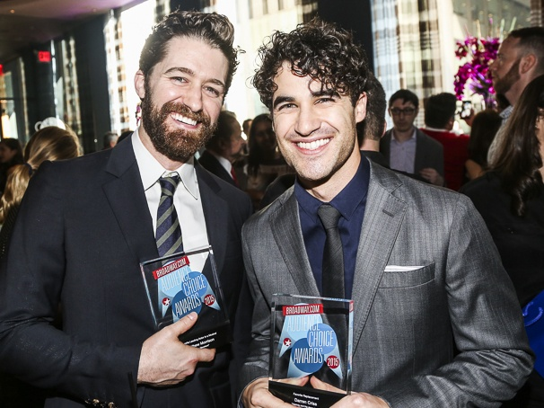 Broadway.com - Audience Choice Awards - 5/15 - Matthew Morrison - Darren Criss