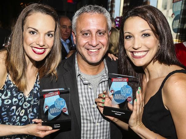 Broadway.com - Audience Choice Awards - 5/15 - Kara Lindsay - David Stone - Caroline Bowman