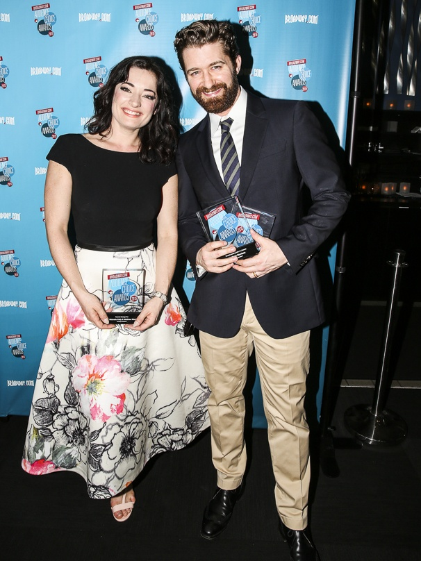 Broadway.com - Audience Choice Awards - 5/15 - Laura Michelle Kelly - Matthew Morrison