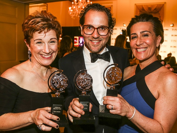 The Tony Awards - 6/16 - Lisa Kron - Sam Gold - Jeanine Tesori