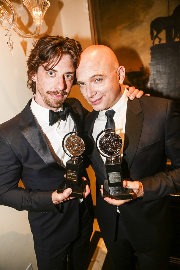 The Tony Awards - 6/15 - Christian Borle - Michael Cerveris