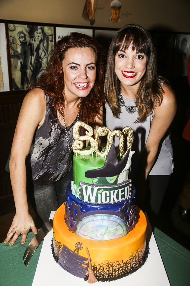 Wicked - 5000 performances - 10/15 - Rachel Tucker and Kara Lindsay