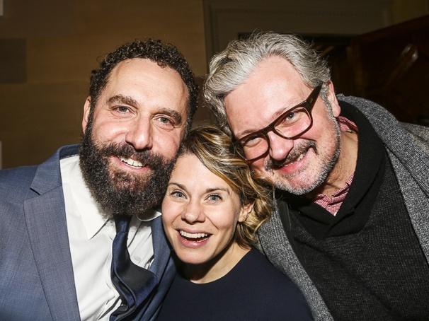 Fiddler on the Roof - Opening - 12/15 - Adam Dannheisser with Celia Keenan Bolger and  John Ellison Conlee