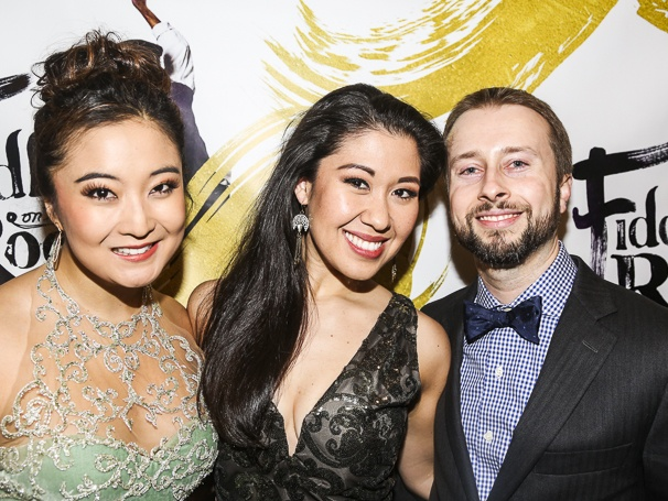 Fiddler on the Roof - Opening - 12/15 - Ashley Park, RuthieAnn Miles  and her husband Jonathan Blumenstein