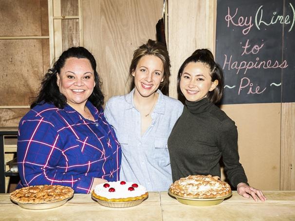 Waitress - Media Day - 3/16 - Keala Settle, Jessie Mueller and Kimiko Glenn