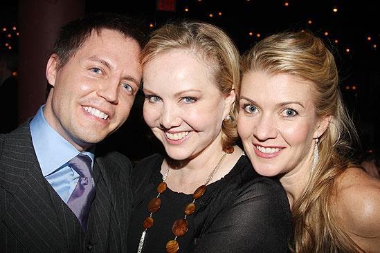 Happiness Opening Night – Jeff Whiting – Susan Stroman – Joanne Manning