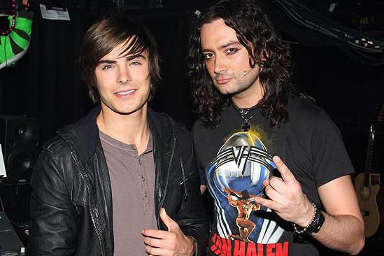 Zac Efron at Rock of Ages – Zac Efron – Constantine Maroulis