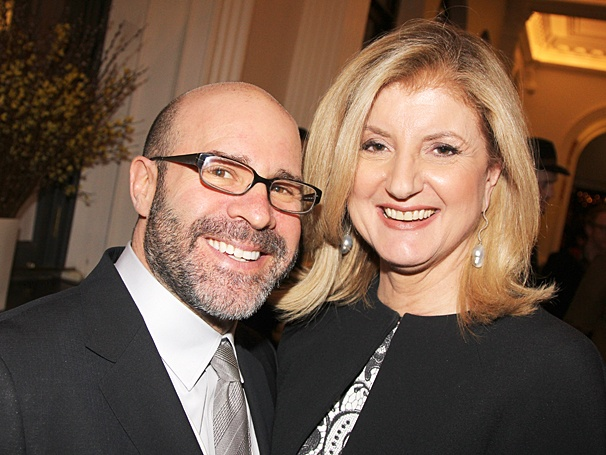 The Library - Opening - OP - 4/14 - Scott Z. Burns - Arianna Huffington