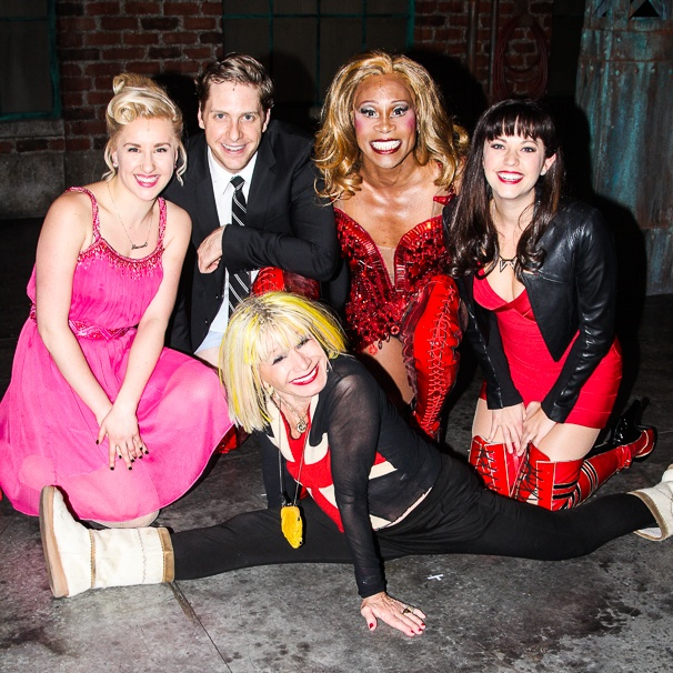Kinky Boots - Backstage - 12/14 -  Betsey Johnson