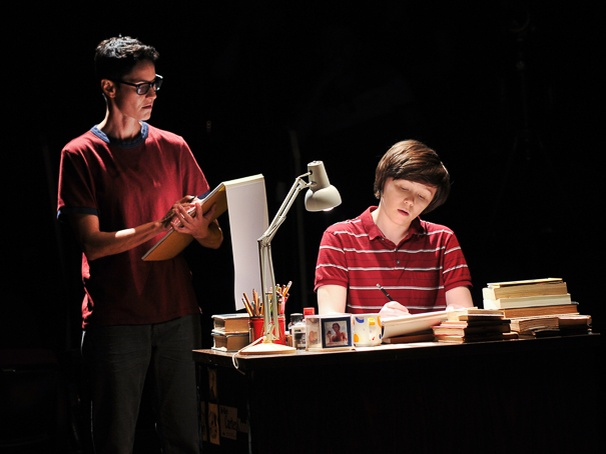 Fun Home - Show Photos - 4/15 - Beth Malone - Emily Skeggs