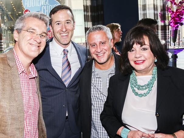 Broadway.com - Audience Choice Awards - 5/15 - Tom D'Ambrosio - Matt Polk - David Stone - Charlotte St. Martin