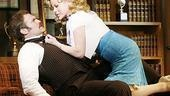 Marc Kudisch as Franklin Hart Jr. and Megan Hilty as Doralee Rhodes in 9 to 5.