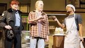 Kate Buddeke, Michael McKeanand Jon Michael Hill in Superior Donuts.