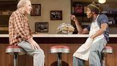 Michael McKean as Arthur Przybyszewski and Jon Michael Hill as Franco Wicks in Superior Donuts.