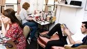 Sondheim on Sondheim Backstage – Leslie Kritzer – Erin Mackey – Matthew Scott