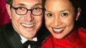 Director/choreographer Robert Longbottom and his leading lady Lea Salonga.