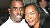 A Raisin in the Sun opening - Sean Combs - Angela Bassett