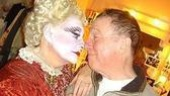 Backstage at Wicked (2/05) - Carole Shelley - George Hearn