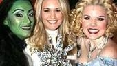 Carrie Underwood at Wicked - Eden Espinosa - Carrie Underwood - Megan Hilty