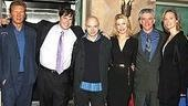 Dirty Rotten Scoundrels new cast opening - Harrison Ford wax - Ayal Miodovnik - Michael Cerveris - Rachel York - Gregory Jbara - wife