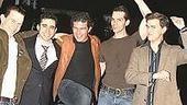 Stars Come Out for Jersey Boys -  Christian Hoff - John Lloyd Young - Antonio Banderas - J. Robert Spencer - Daniel Reichard (dancing)