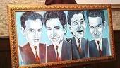 Photo Op - Jersey Boys Portrait Unveiling - the portrait