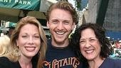 Photo Op - Broadway in Bryant Park 07-26-07 -  Marin Mazzie - Jason Danieley - Karen Ziemba