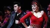 Photo Op - Grease Opening - cc - Max Crumm - Laura Osnes -1