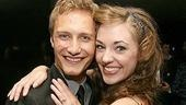 Photo Op - Grease Opening - Nathan Johnson - Laura Osnes