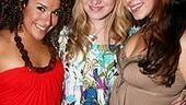 Photo op - Wicked 4th anniversary party - Kristina Fernandez - Annaleigh Ashford - Lori Ann Ferreri