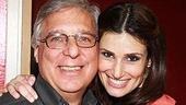 Idina Menzel at Virgin - Idina with Bert Goldstein