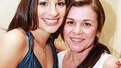 Lea Michele at Feinstein's - Lea Michele - mom Edith