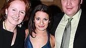 Lea Michele at Feinstein's - Lea Michele - Kate Burton - Glenn Fleshler