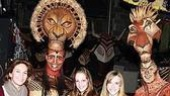 Diane Lane at Lion King - Diane Lane - daughter Eleanor - Nathaniel Stampley - Derek Smith