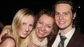 2008 Hair Opening - Jonathan Groff - Julie White - daughter Alexandra