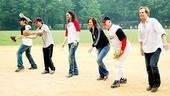 Broadway Softball May 2009 – Andy Karl – Hunter Foster – Constantine Maroulis – Haydn Gwynne – Gregory Jbara – Jeff Daniels